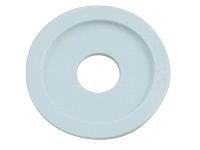 Rondelle blanche en plastique de roue de robot C-64