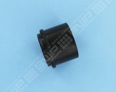 Douille à collet D = 50 mm, coloris noir