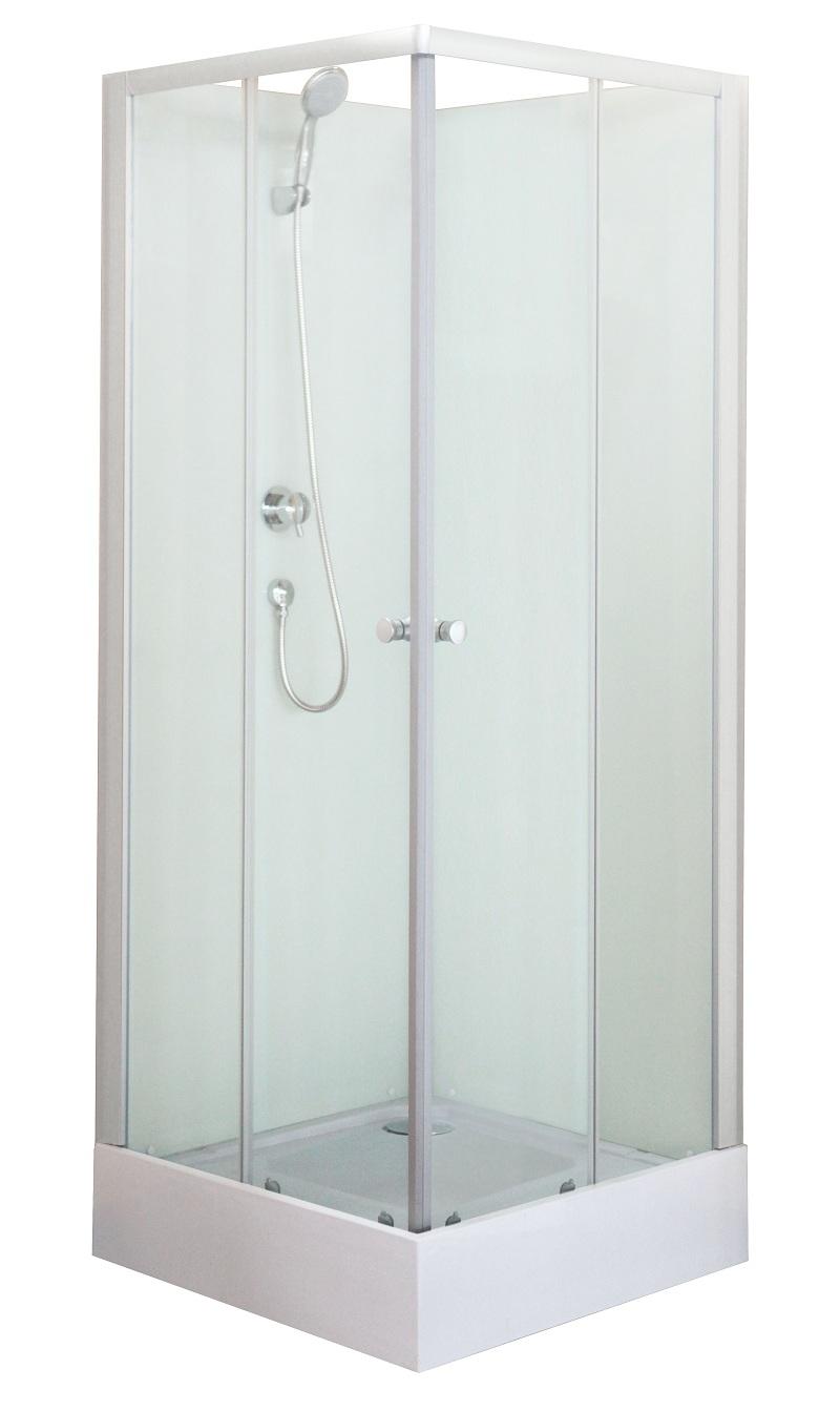 Cabine de douche carré 80x80 cm - NEREA2