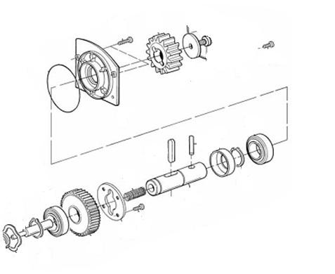 Groupement de transmission Mhouse SPAMG00500