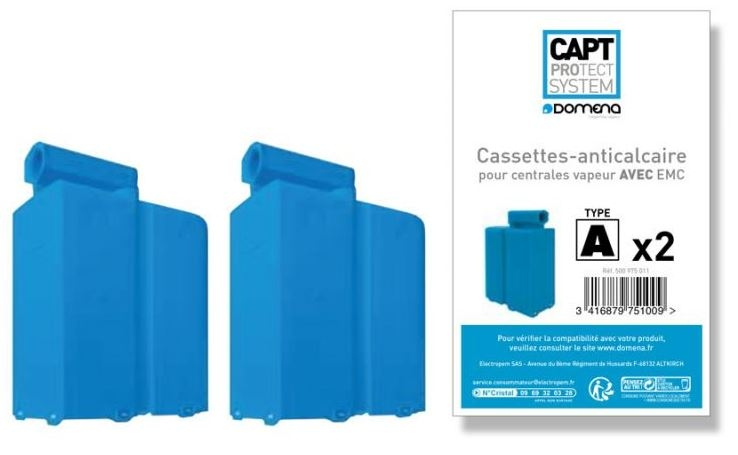 PACK 2 CASSETTES CAPT TYPE A
