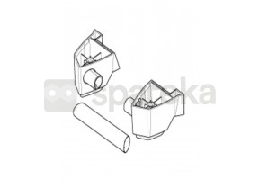 Kit support inferieur chassis 128500105