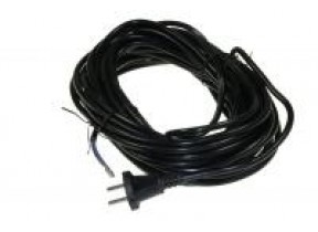 CABLE D ALIMENTATION ASPI.15MNOIR 2 X 1,00MM²