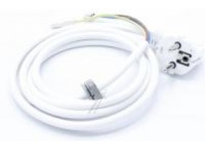 Power cable 165cm/45/white 32032449