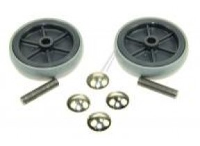 Roues arr. + axe + clips chariot gs/gm80p 22384200