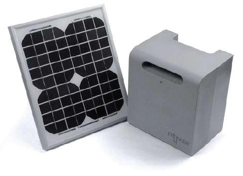 Kit d'alimentation solaire Mhouse PF