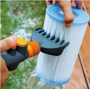Peigne Nettoyeur de cartouches de filtre piscine