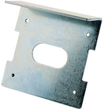 plaque auvent pour DU.V90 sur portail
