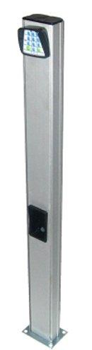 Colonnette 10cm en aluminium pour cellule et sélecteur
