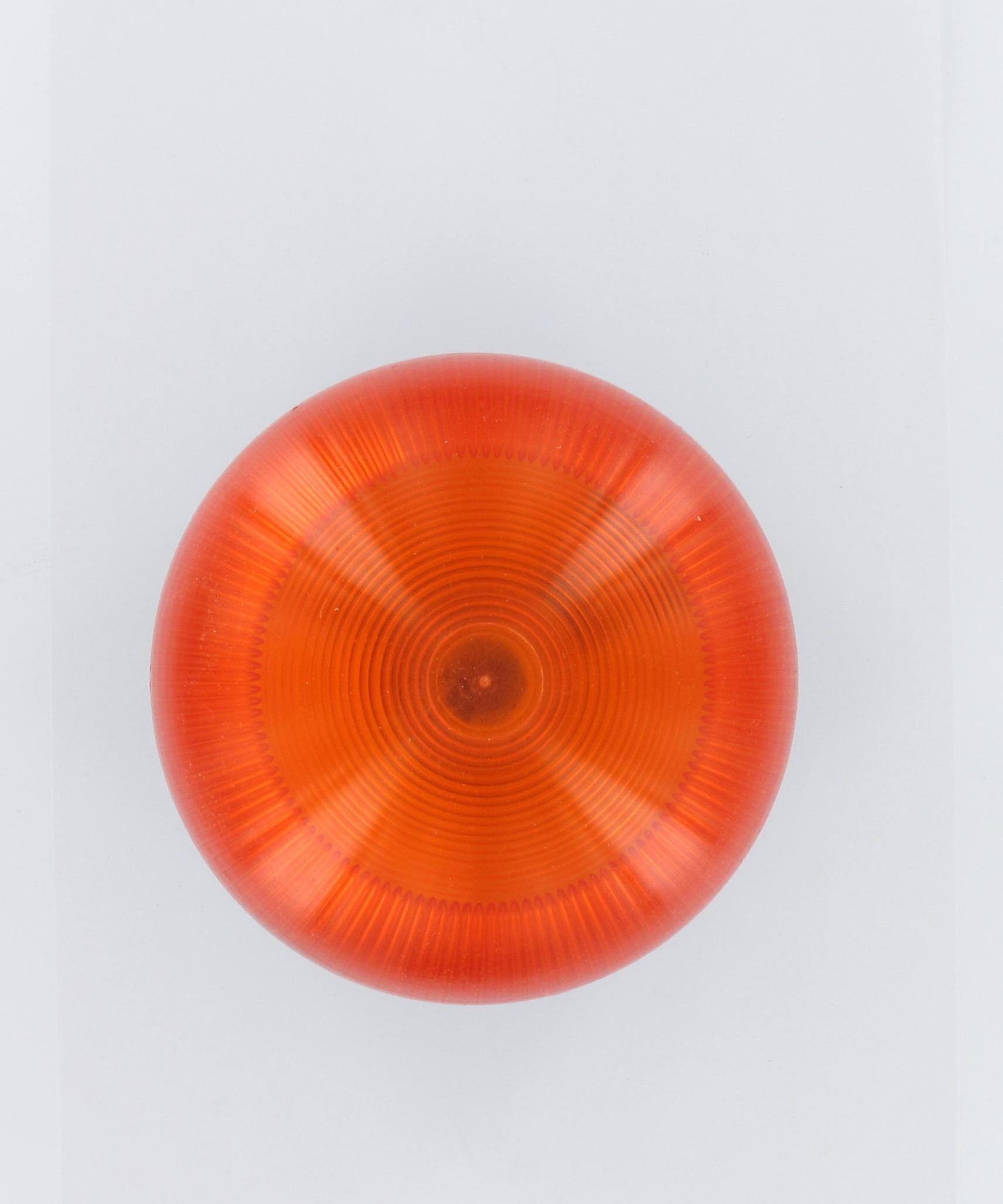 Feu orange prédisposé pour l'antenne 230V