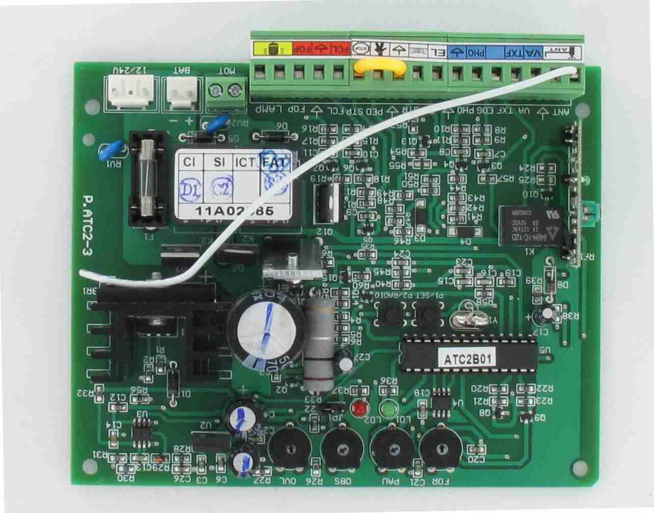 Carte électronique EXTEL ATC2