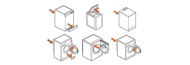 Trouver la référence d'un lave-linge