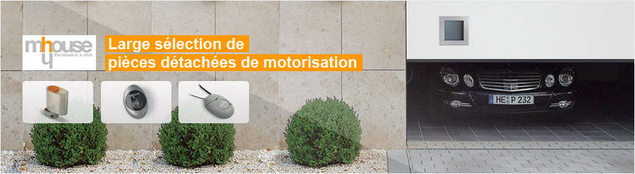 Pieces motorisation Mhouse
