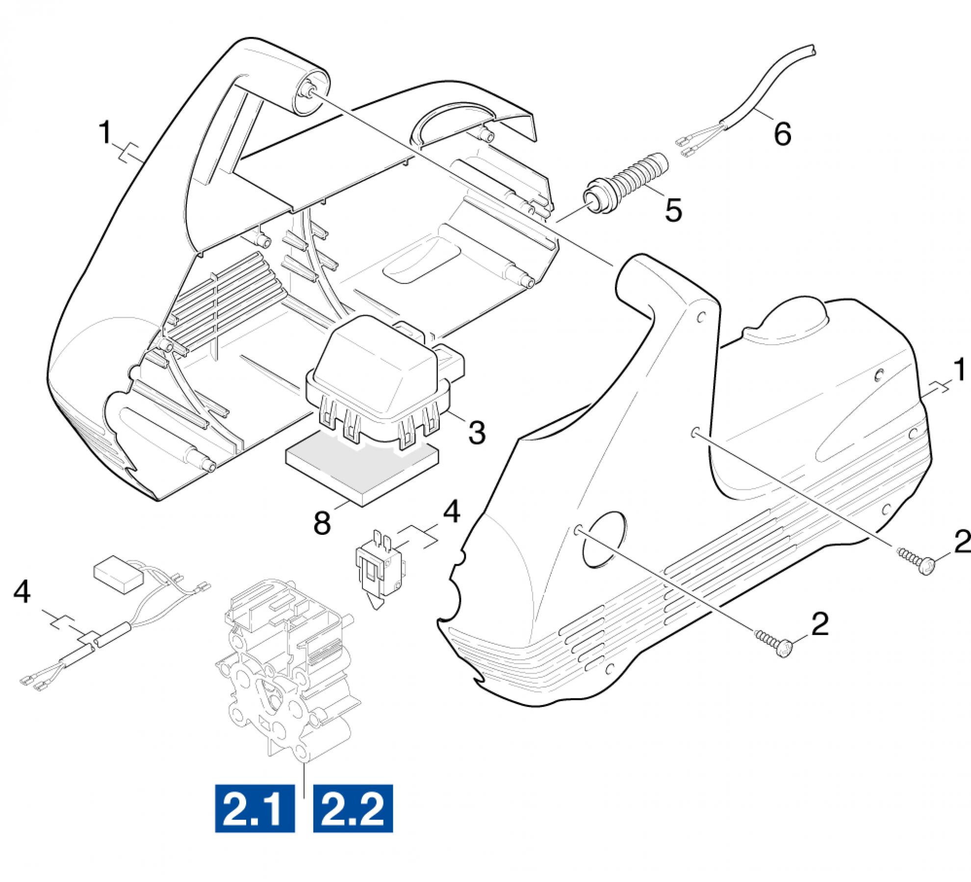 pi ces d tach es nettoyeur haute pression karcher k 210. Black Bedroom Furniture Sets. Home Design Ideas