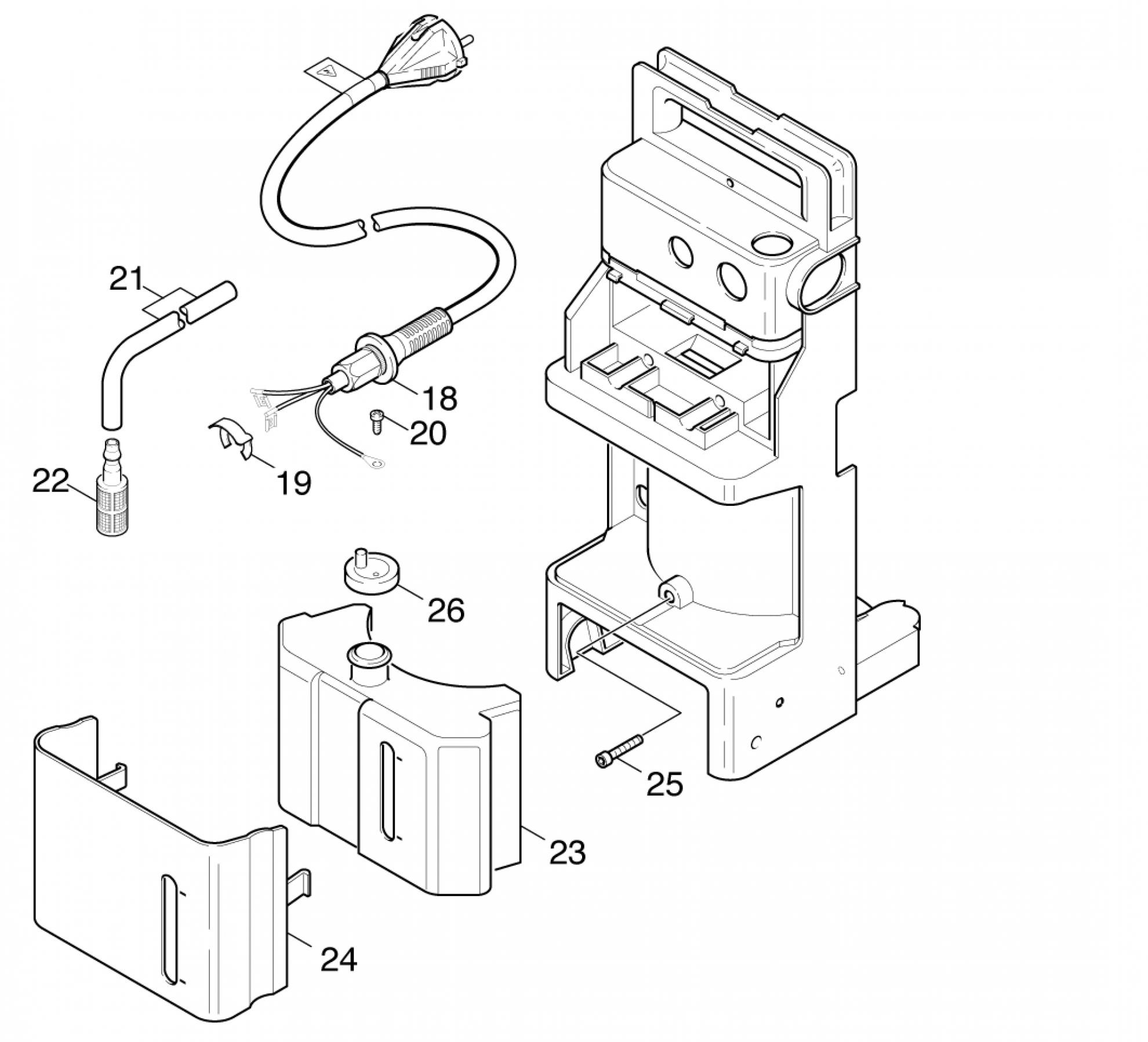 Pi ces d tach es nettoyeur haute pression karcher k 720 m - Pieces detachees karcher ...