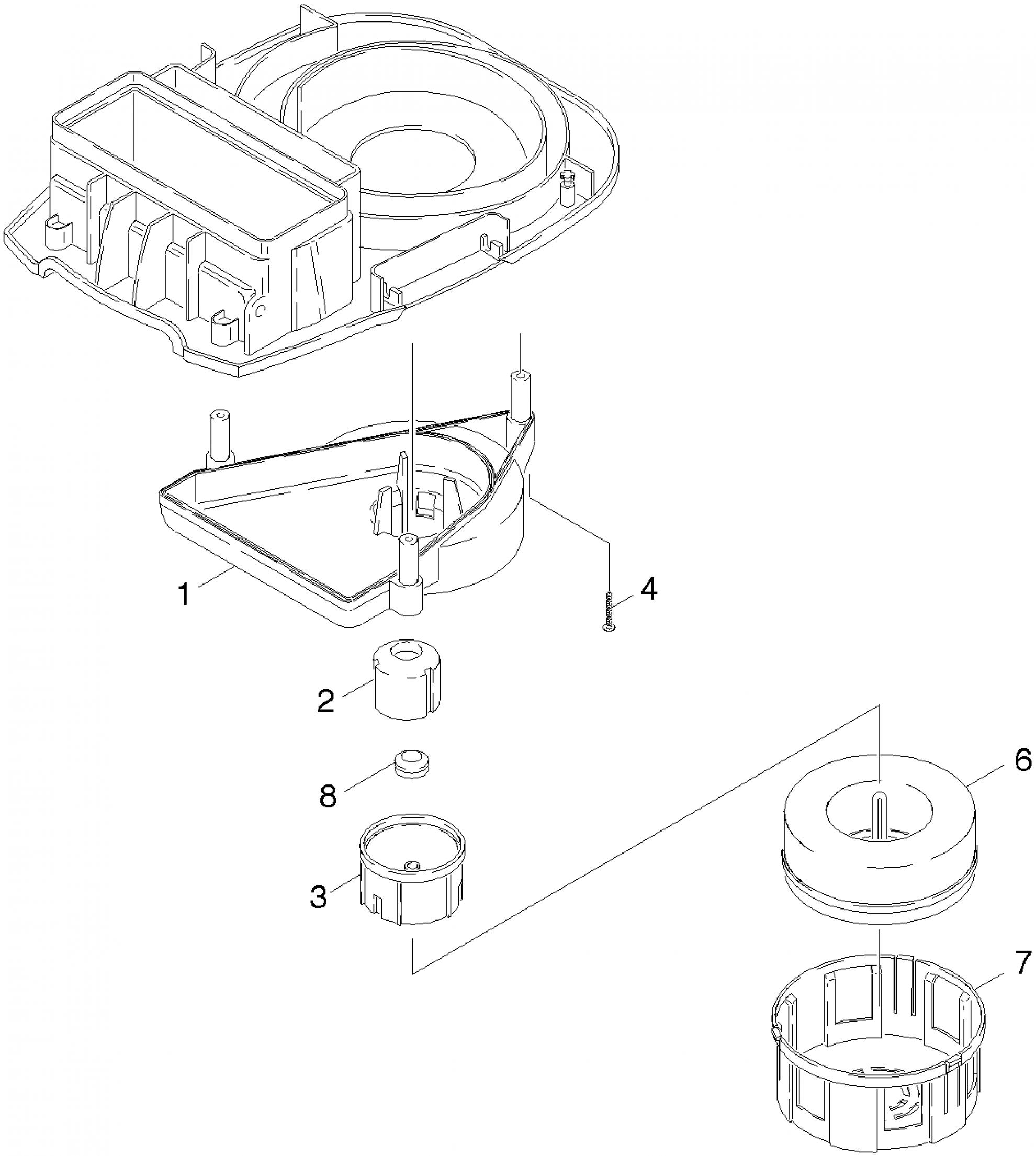 pi ces d tach es aspirateur karcher a 2801 plus eu. Black Bedroom Furniture Sets. Home Design Ideas