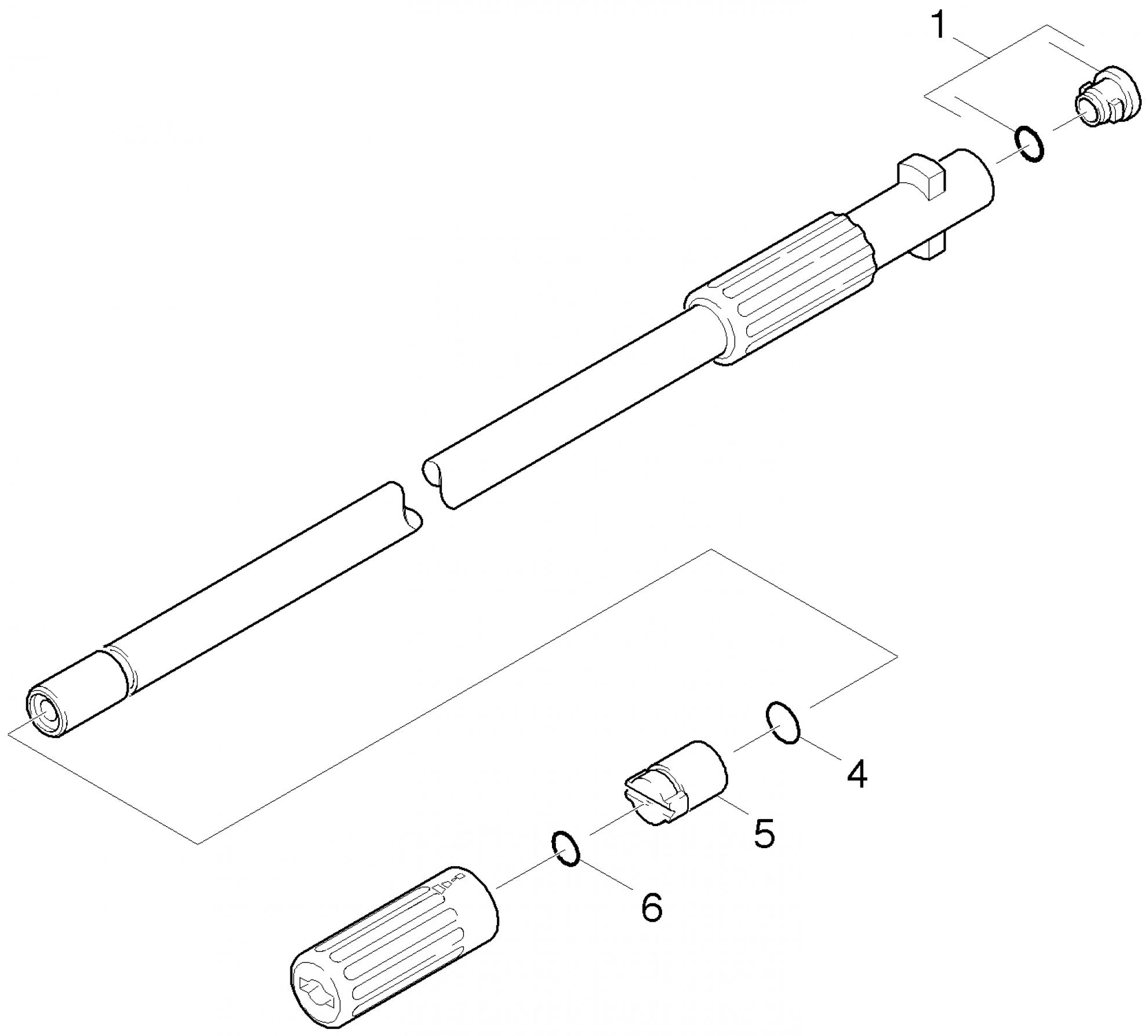 pi ces d tach es nettoyeur haute pression karcher adaptateur b. Black Bedroom Furniture Sets. Home Design Ideas