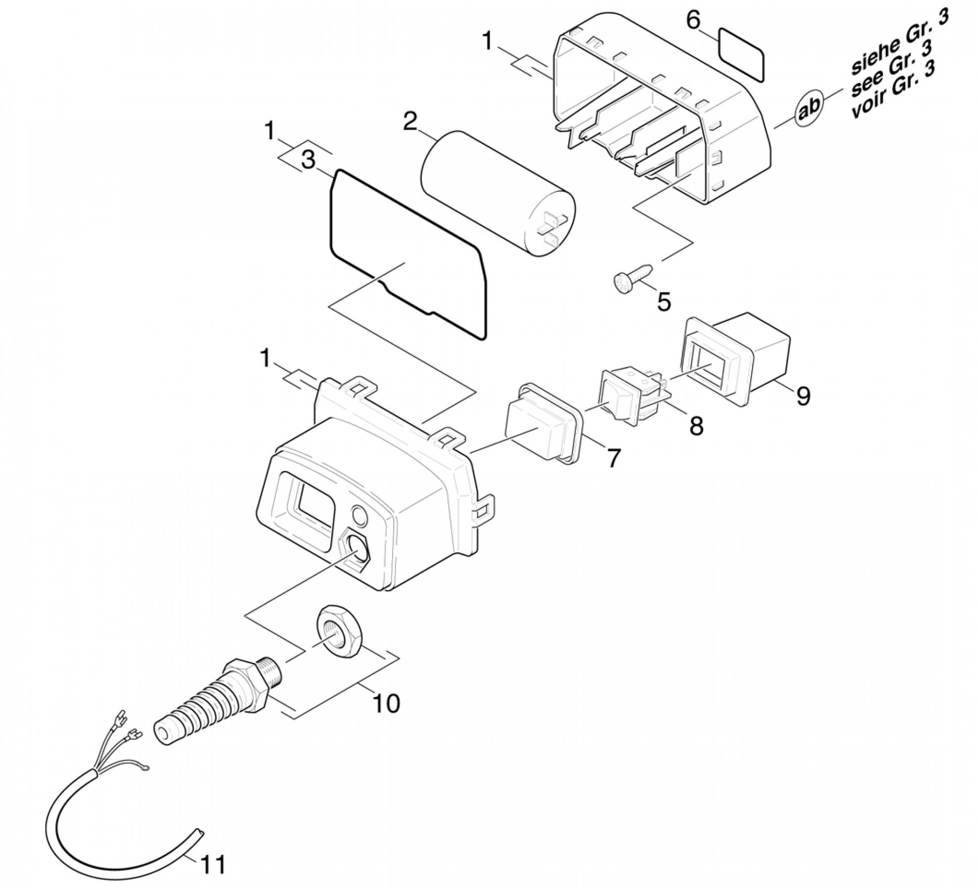 pi ces d tach es nettoyeur haute pression karcher k 330. Black Bedroom Furniture Sets. Home Design Ideas