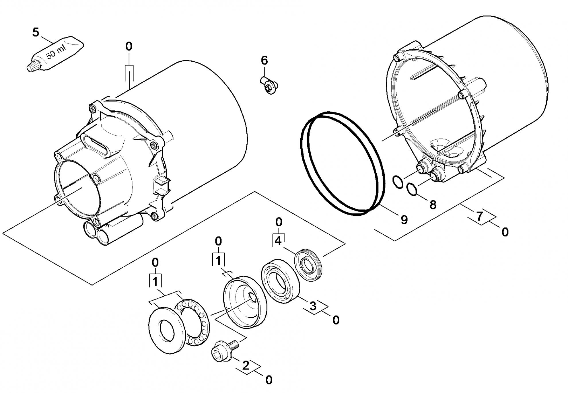 Pi ces d tach es nettoyeur haute pression karcher k 5 - Pieces detachees karcher ...