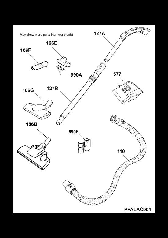 pi ces d tach es aspirateur tornado to69fd2 90315190300. Black Bedroom Furniture Sets. Home Design Ideas