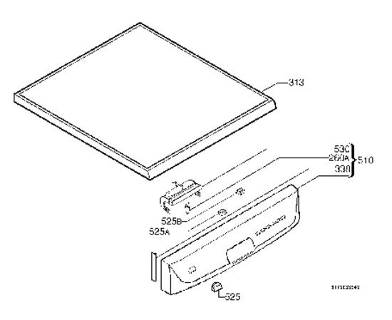 pi ces d tach es lave vaisselle electrolux asf64030. Black Bedroom Furniture Sets. Home Design Ideas