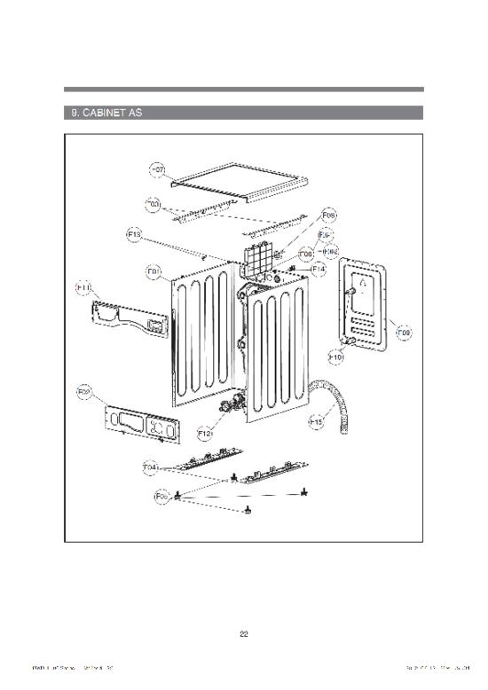 daewoo electromenager pièces détachées