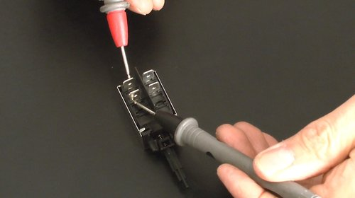 test interrupteur lave linge