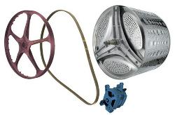 mécanisme cuve et moteur lave-linge