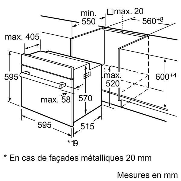 four : schéma du système de ventilation