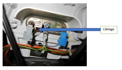 lave-linge : vérifier le cablagede la sonde