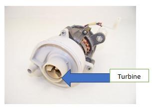 turbine de la pompe de cyclage