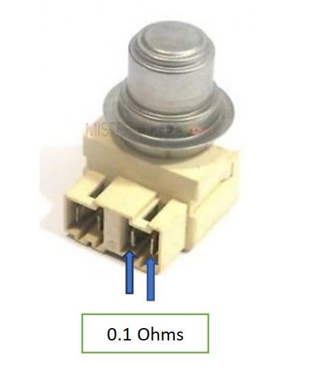 lave-vaisselle : thermostat de sécurité