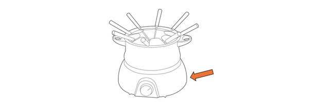 Trouver la référence d'un appareil à fondue