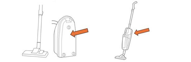Trouver la référence d'un aspirateur