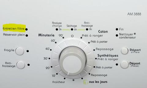 Filtre lave-linge