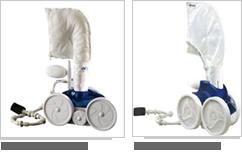 Différents modèles de robot Polaris